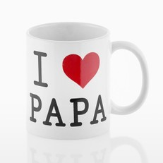 TAZA I LOVE PAPA ROMANTIC ITEMS